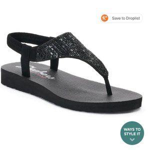 NWOT Skechers Cali Meditation Rock Crown Sandals